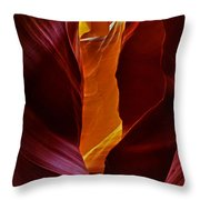 Antelope Canyon - Arizona Throw Pillow