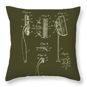 Antique Safety Razor Patent 1926 Throw Pillow
