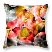 Apple Bowl Throw Pillow