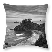 Approaching Storm Throw Pillow by Andrew Soundarajan