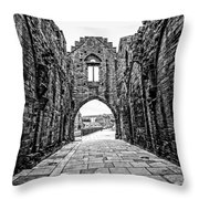 Arbroath Abbey Throw Pillow