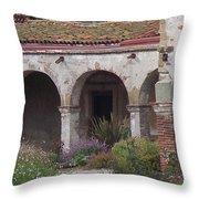 Arches San Juan Capistrano Throw Pillow