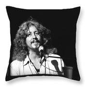 Arlo Guthrie Throw Pillow