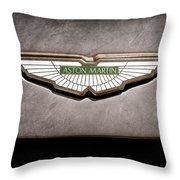 Aston Martin Emblem Throw Pillow