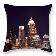 Atlanta From Above Throw Pillow
