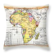 Atlas I Cedid Throw Pillow