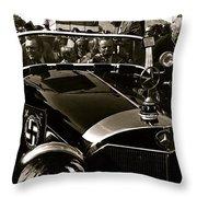 Auction Sale Last Ride Adolf Hitler's Model 770-k 1941 Mercedes-benz Touring Car Scottsdale Az 1973 Throw Pillow