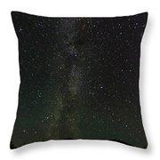 Aurora Borealis, Kantishna, Alaska Throw Pillow