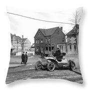Automobile, C1905 Throw Pillow