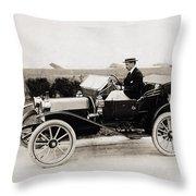 Automobile, C1915 Throw Pillow