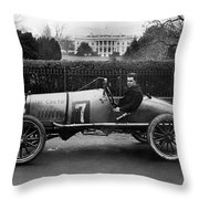 Automobiles Racing Throw Pillow
