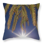 Autumn Coniferous Throw Pillow