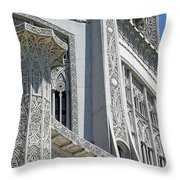 Bahai Temple Wilmette Throw Pillow