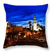 Balboa Night Throw Pillow