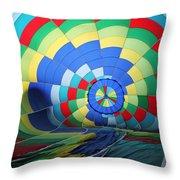 Balloon Fantasy 22 Throw Pillow