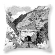 Baltimore & Ohio Railroad Throw Pillow