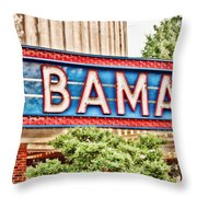 Bama Throw Pillow