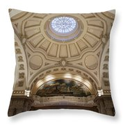 Bancroft Hall Throw Pillow