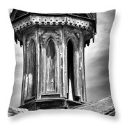 Barn Detail Throw Pillow