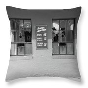 Baseball Nostalgia Throw Pillow