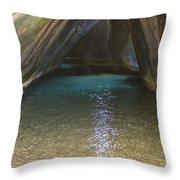 Bath Rocks  Throw Pillow