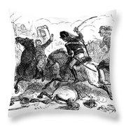 Battle Of Cowpens, 1781 Throw Pillow