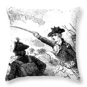 Battle Of Stony Point, 1779 Throw Pillow by Granger