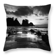 Beach 10 Throw Pillow