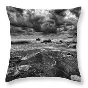 Beach 14 Throw Pillow