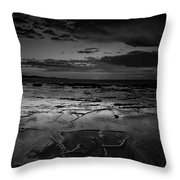 Beach 23 Throw Pillow