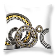 Bearings Throw Pillow