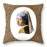 Beauty Adorned Throw Pillow