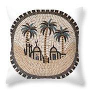 Bedouin Hut Throw Pillow