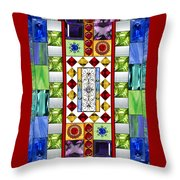 Bejeweled 1 Throw Pillow