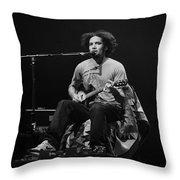 Ben Harper Throw Pillow