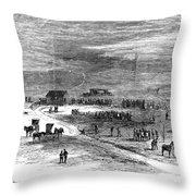 Bender Murders, 1873 Throw Pillow