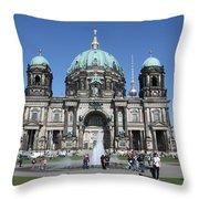 Berliner Dom Throw Pillow