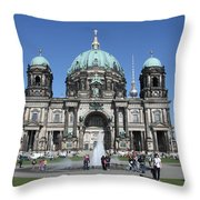 Berliner Dom Throw Pillow