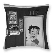 Betty Boop 2 Throw Pillow