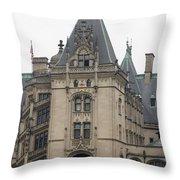 Biltmore Estate Asheville North Carolina Throw Pillow