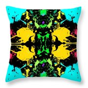 Birth And Rebirth Throw Pillow