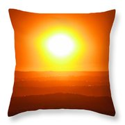 Blinded By The Light Throw Pillow