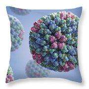 Bluetongue Virus Throw Pillow
