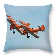 Breitling Wingwalkers Team Throw Pillow