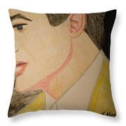 Brendan Fraser Throw Pillow