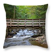 Bridge To Paradise Throw Pillow