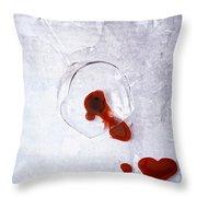 Broken Glass Throw Pillow
