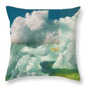 Brother In The Air Throw Pillow
