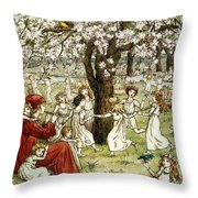 Browning: Pied Piper Throw Pillow