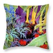 Brugmansia-1 Throw Pillow